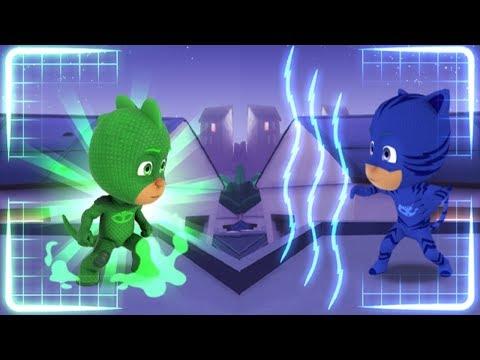 PJ Masks Gekko And Catboy Moonfizzle Madness - Disney Jr Games