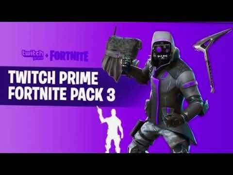 Twitch Fortnite Skin Pack 3   Winning A Fortnite Battle Royale