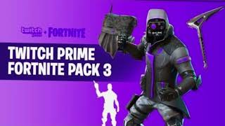 New Fortnite Skin Twitch Prime #3 FREE ! *LEAKED*