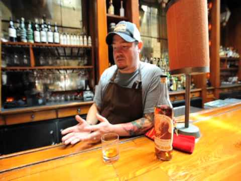Sean Brock's Pappy Van Winkle Obsession. Documented by Jeff Scott for Notes From A Kitchen