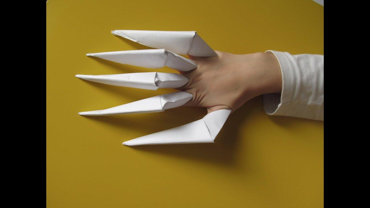 Оригами на хэллоуин легко