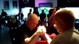 Erik Kurvink VS Tim vd Kuyl Urk NLAB armwrestling thumbnail