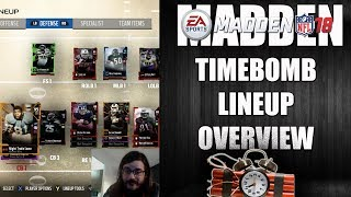 MADDEN 18 TIMEBOMB LINEUP OVERVIEW
