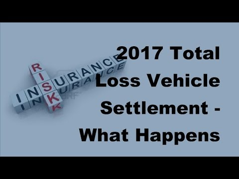 2017 Total Loss Vehicle Settlement  | What Happens When Your Car Is Totaled