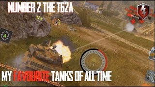 T-62A - NUMBER 2 : FAVOURITE TANKS OF ALL TIME WORLD OF TANKS BLITZ