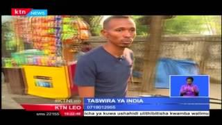 Taswira ya jamii zinazozurura barabarani bila makao rasmi almaarufu chokoraa nchini India