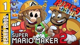 Theme Parks Rides 1 | Super Mario Maker 2 | Super Beard Bros.