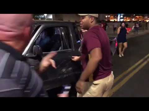 Alt-Left Thugs attacking Trump supporters on the streets in Phoenix