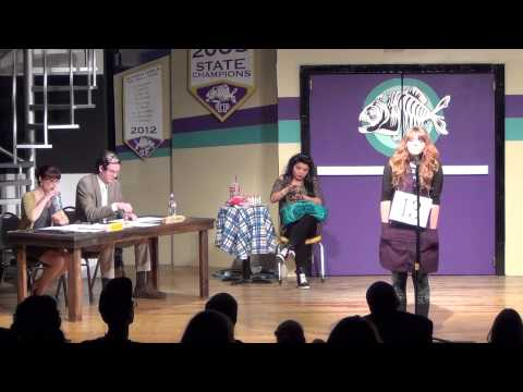 The 25th Annual Putnam County Spelling Bee @ MMST Part 1