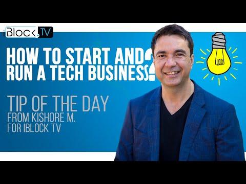 TIP FOR ENTREPRENEURS | KISHORE M. (FUTURE1COIN) FOR IBLOCK TV