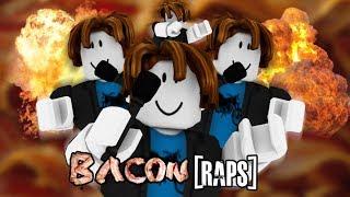 ROBLOX Trolling as BACON Hairs in Rap Battles (FIRE)
