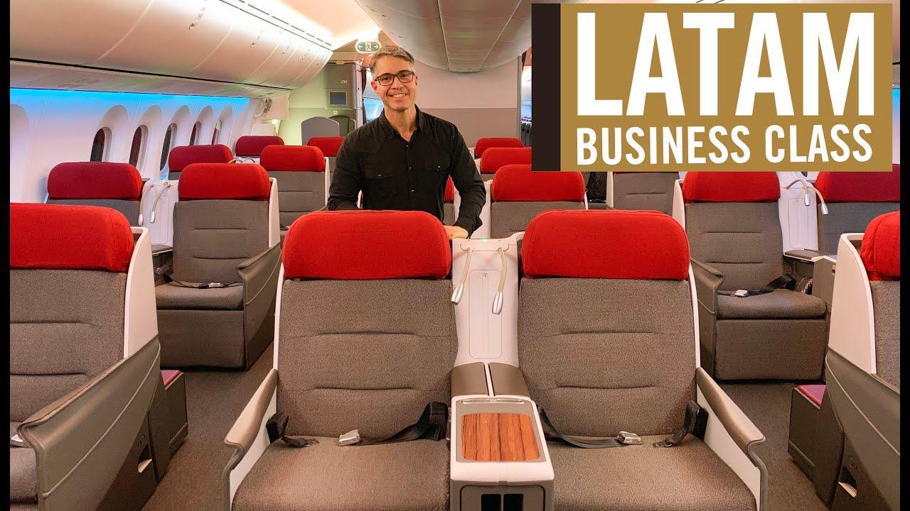 LATAM - BUSINESS CLASS, no B787 - De São Paulo a Santiago do Chile