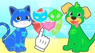 BABY PETS Max Dresses up as Superhero 🐶 Cartoons for Kids