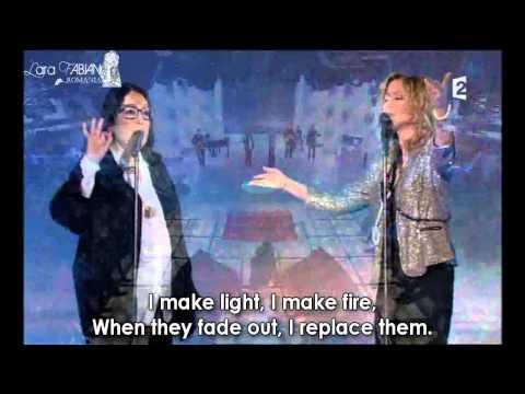Nana Mouskouri & Lara Fabian - La vie, l'amour, la mort