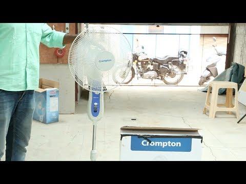How to setup Crompton Pedestal Fan