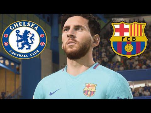 Chelsea vs Barcelona | UEFA Champions League 20/02/2018 - FIFA 18