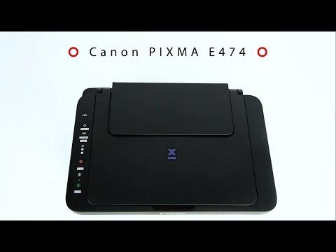 Обзор МФУ Canon PIXMA E474