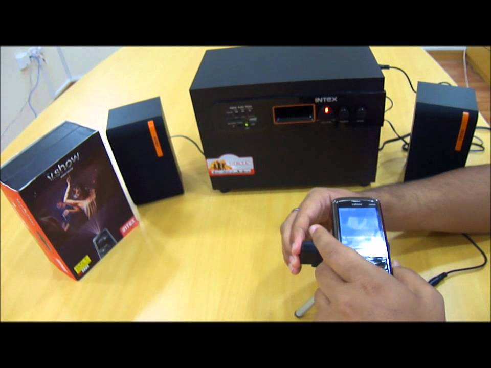 How To Connect Intex 8809 To Intex Home Theatre System Wmv Youtube
