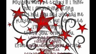 Nikki Flores  Erase You  w / Lyrics