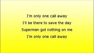 One call way lyrics thumbnail