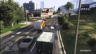 GTA 5  Driving A Dump Truck