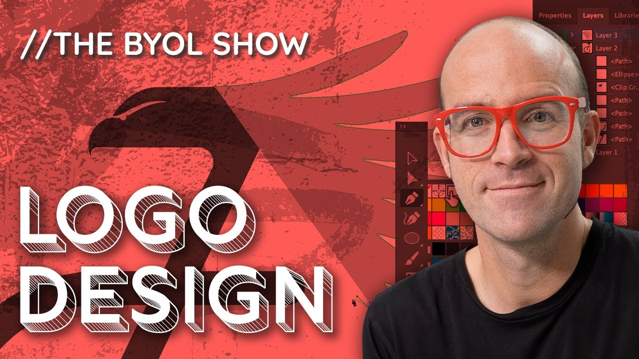 How to Design a Logo for Beginners | BYOL Show EP1