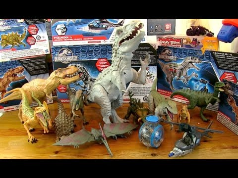 New Massive Collection - Jurassic World Dinosaur Toys - Full Set 2015