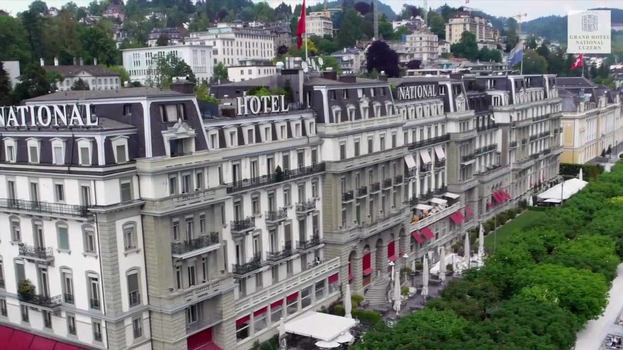 Grand Hotel National Luzern Video By Sevenice Professionally Made Firmenvideo You