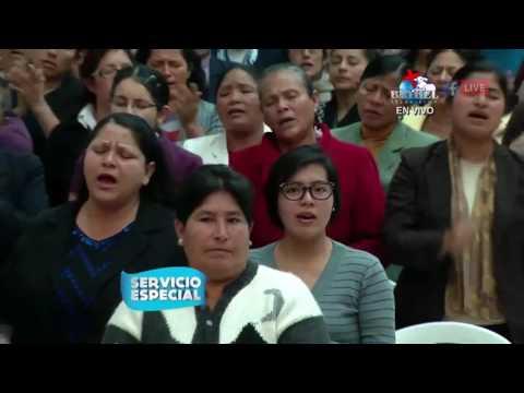 Visita del Rev Carlos Guerra a Iglesia de Villa Maria del Triunfo   Bethel Televisión1