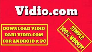 Cara Download Vidio dari vidio.com terbaru