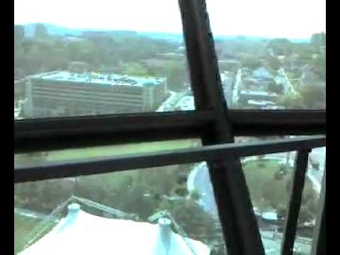 Knoxville Sunsphere tower view inside