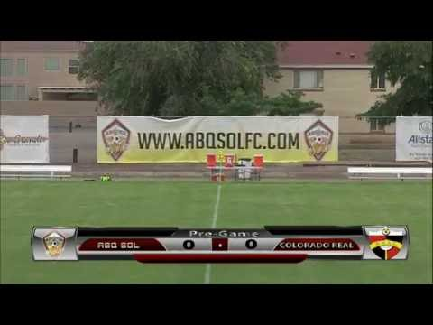 Albuquerque SOL FC vs Real Colorado