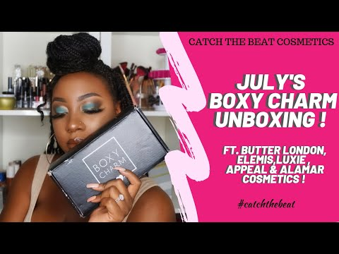 JULY BOXYCHARM UNBOXING 2019! TRY ON & FIRST IMPRESSIONS LOOK