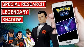 Pokemon Go Looming In The Shadows Special Research