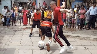 Professor 3v3 in India INTERRUPTED  by goat..NBA Commercial shoot in the Hood