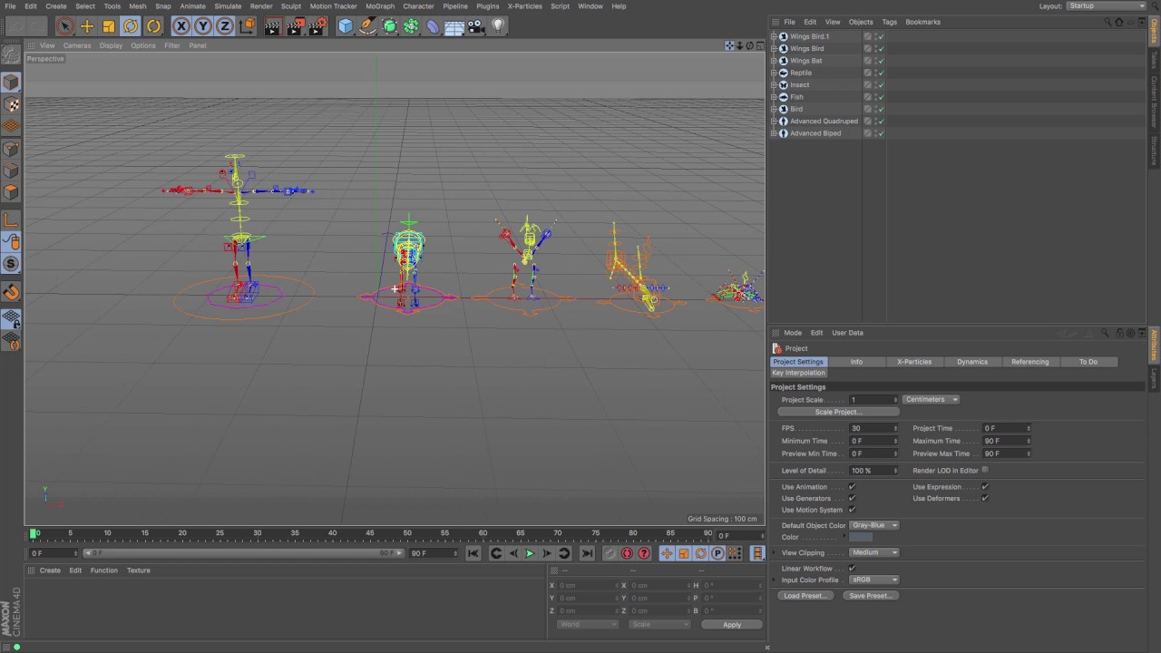 Cinema 4d Tutorial Character Builder Introduction Youtube