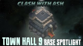 Clash Of Clans | TH9 - Two Anti 3 Star War Base Designs (2nd Sweeper)