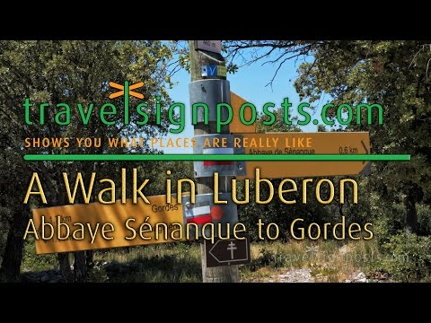 From Abbaye de Sénanque to Gordes: A Walk In the Luberon
