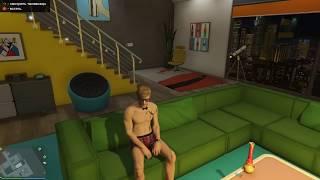 Приватный танец в квартире GTA Online