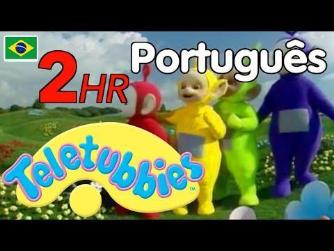 Teletubbies Brasil Português - Compilação De 2 Horas