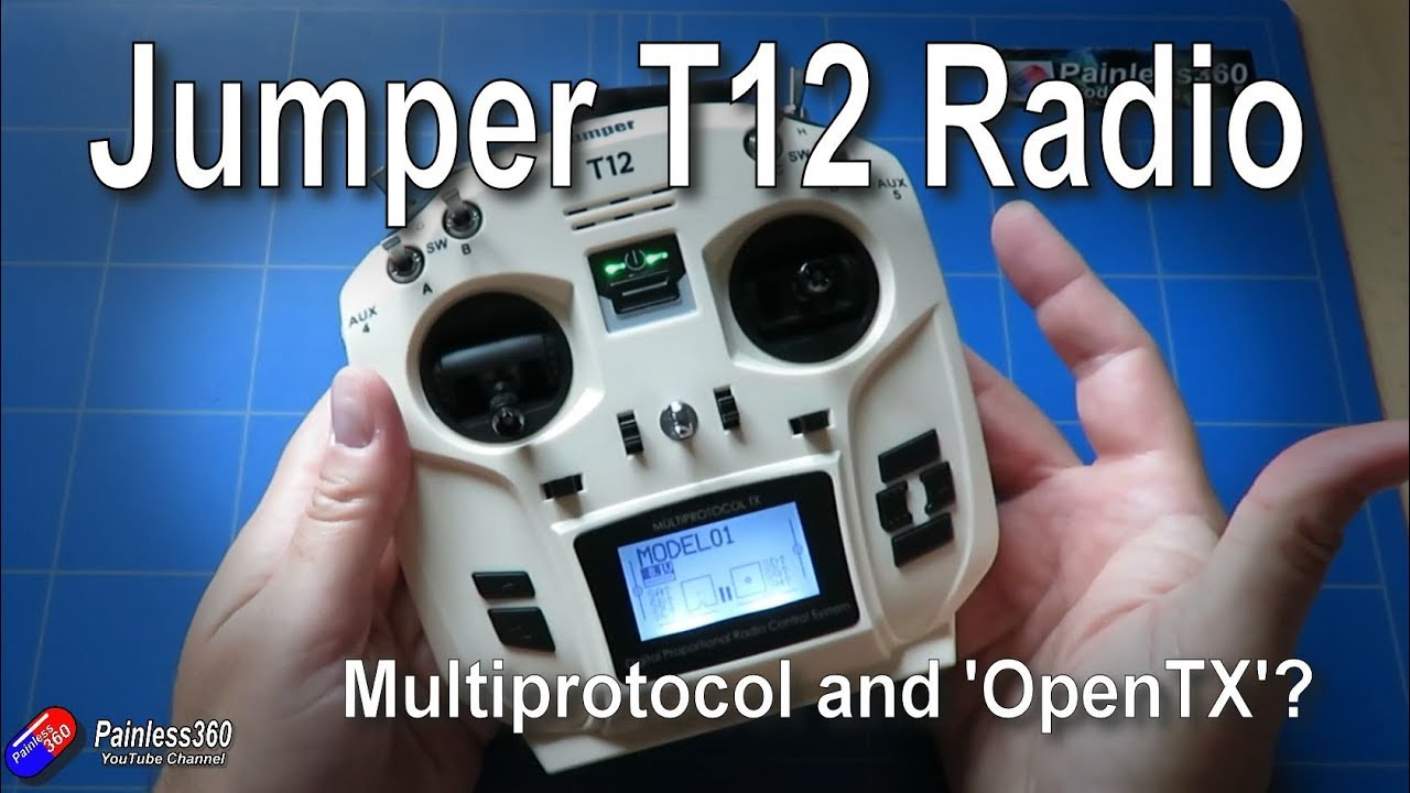 Jumper T12 - 'OpenTX' and multiprotocol on an inexpensive radio