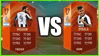 FIFA 18 DYBALA VS HIGUAIN!!