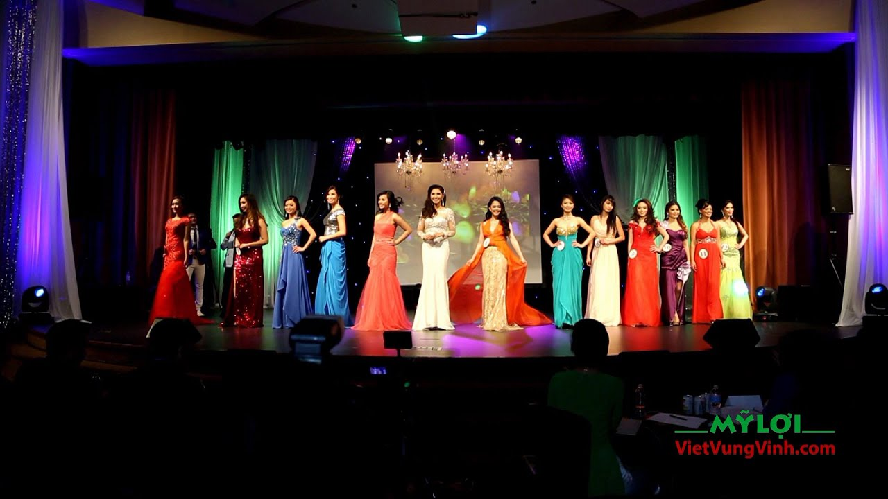 Phần 2: Thi Áo Dạ Hội: Miss. & Mrs. Vietnam USA 2015