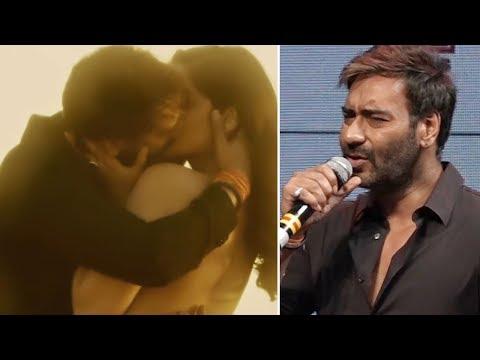 Ajay Devgn REACTS on kissing scenes with Ileana Dcruz in Baadshaho
