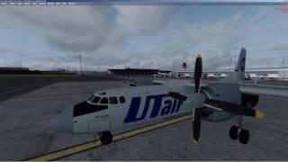 Prepar3D [ P3D всі ] | Ан 24 РВ | інструкція | керівництво | повний політ | на англійську | LIRF - LFKJ