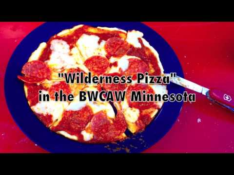 How To Make Campfire Pizza In The BWCAW
