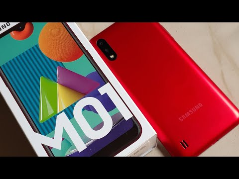 Samsung Galaxy M01   Review and Unboxing Colour Red