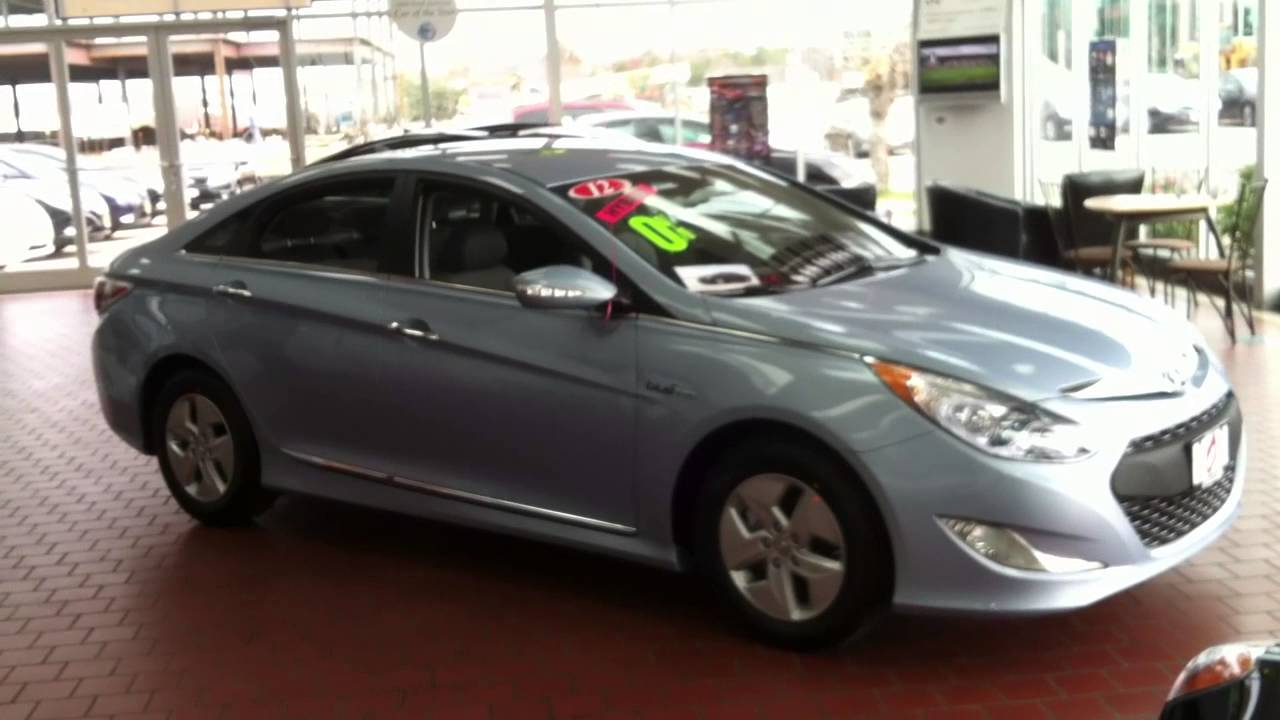 2013 Hyundai Sonata Hybrid Base Model Blue Sky Metallic Gray