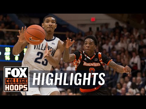 Villanova vs. Morgan St. | FOX COLLEGE HOOPS HIGHLIGHTS