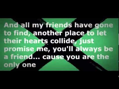 Ed Sheeran - One Lyrics